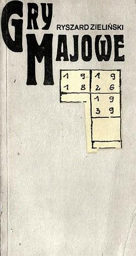 Okładka książki Gry majowe. Pamiętnik spóźnionego