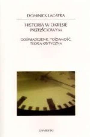 Okładka książki Historia w okresie przejściowym. Doświadczenie tożsamość teoria krytyczna