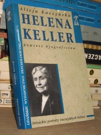 Okładka książki Helena Keller
