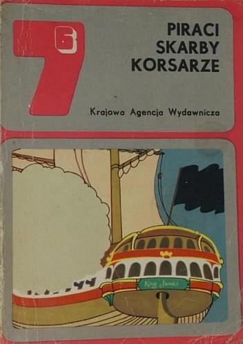 Okładka książki Piraci, skarby, korsarze
