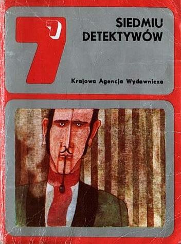 Okładka książki Siedmiu detektywów