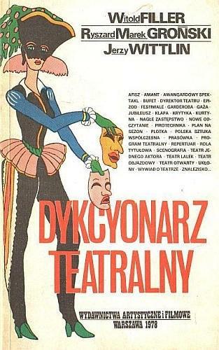 Okładka książki Dykcyonarz teatralny