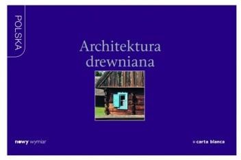Okładka książki Architektura drewniana