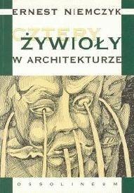 Okładka książki Cztery żywioły w architekturze