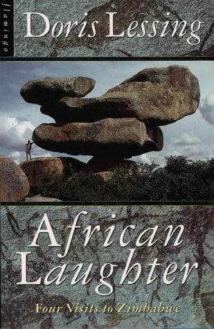 Okładka książki African Laughter. Four visits to Zimbabwe