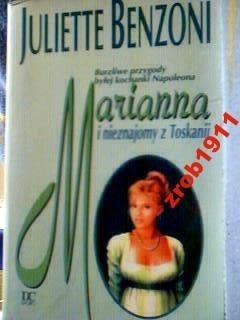 Okładka książki Marianna i nieznajomy z Toskanii