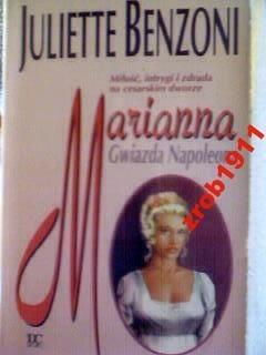 Okładka książki Marianna: Gwiazda Napoleona