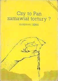 Okładka książki Czy to Pan zamawiał tortury?