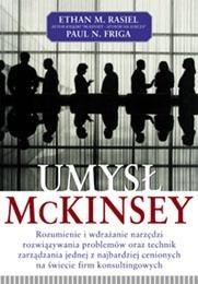 Okładka książki Umysł McKinsey