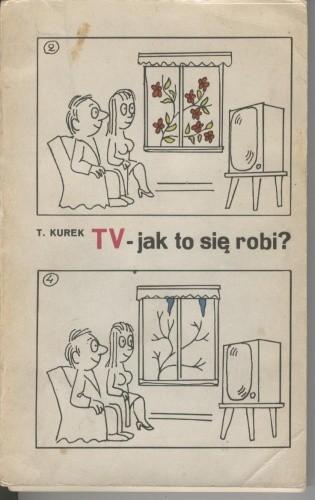Okładka książki TV - jak to się robi?