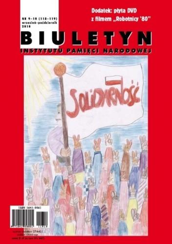 Okładka książki Biuletyn IPN nr 9-10/2010