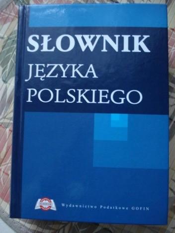 Okładka książki Słownik języka polskiego