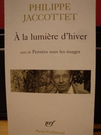 Okładka książki A la lumiere d'hiver