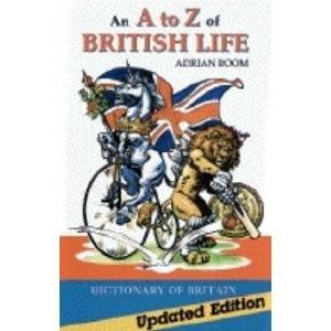 Okładka książki An A to Z of British Life