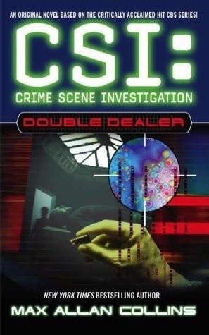 Okładka książki CSI: Double Dealer