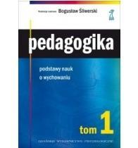 Okładka książki Pedagogika podstawy nauk o wychowaniu
