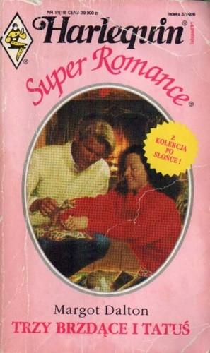 Okładka książki Trzy brzdące i tatuś