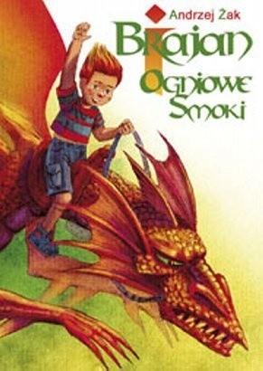 Okładka książki Brajan i Ogniowe Smoki