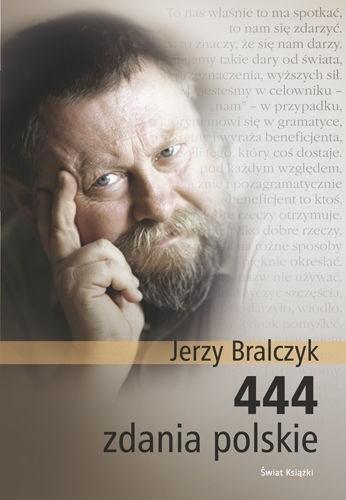 Okładka książki 444 zdania polskie