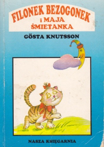 Okładka książki Filonek Bezogonek i Maja Śmietanka