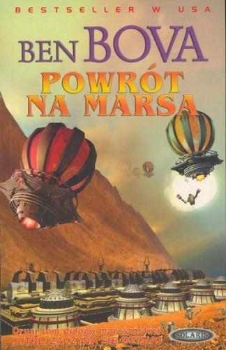 Okładka książki Powrót na Marsa