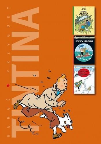 Okładka książki Afera Lakmusa / Koks w ładowni / Tintin w Tybecie
