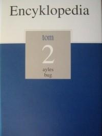 Okładka książki Encyklopedia Gazety Wyborczej t. 2 ayles - bug