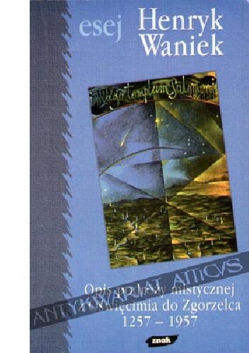 Okładka książki Opis podróży mistycznej z Oświęcimia do Zgorzelca: 1257-1957