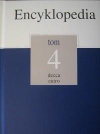 Okładka książki Encyklopedia Gazety Wyborczej t. 4 decca - eutro