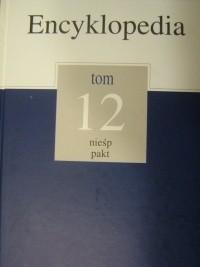 Okładka książki Encyklopedia Gazety Wyborczej t. 12 nieśp - pakt