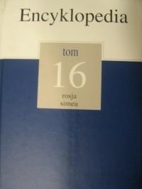 Okładka książki Encyklopedia Gazety Wyborczej t. 16 rosja - simeu