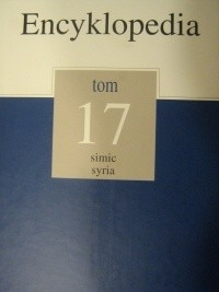 Okładka książki Encyklopedia Gazety Wyborczej t. 17 simic - syria