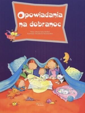 Okładka książki Opowiadania na dobranoc