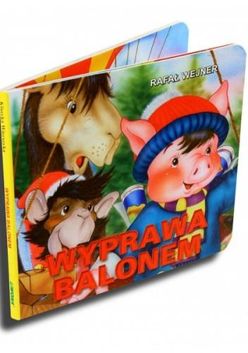 Okładka książki Wyprawa balonem