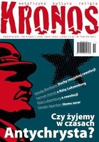 Okładka książki Kronos 4/2007