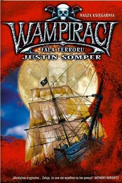 Okładka książki Wampiraci. Fala terroru