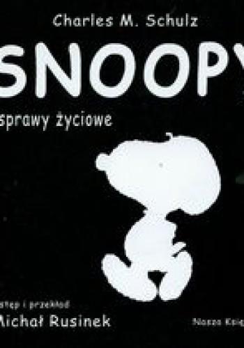 Okładka książki Snoopy i sprawy życiowe
