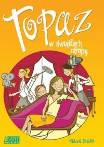 Okładka książki Topaz w światłach rampy