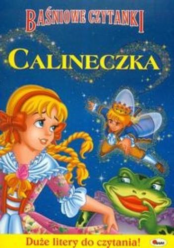 Okładka książki Baśniowe czytanki Calineczka
