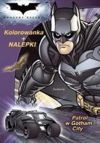 Okładka książki Patrol w Gotham City
