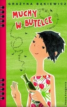 Okładka książki Muchy w butelce