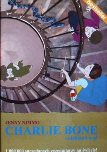 Okładka książki Charlie Bone i niebieski wąż
