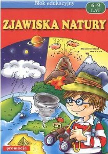 Okładka książki Zjawiska natury