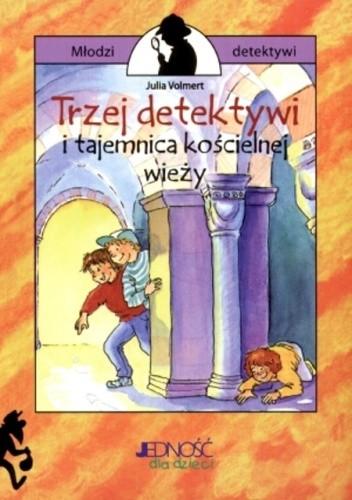 Okładka książki Trzej detektywi i tajemnica kościelnej wieży