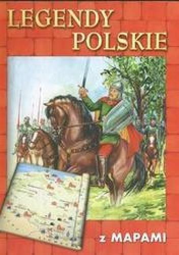 Okładka książki Legendy polskie z mapami