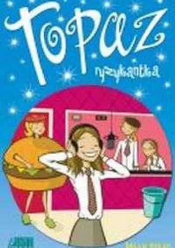 Okładka książki Topaz ryzykantka