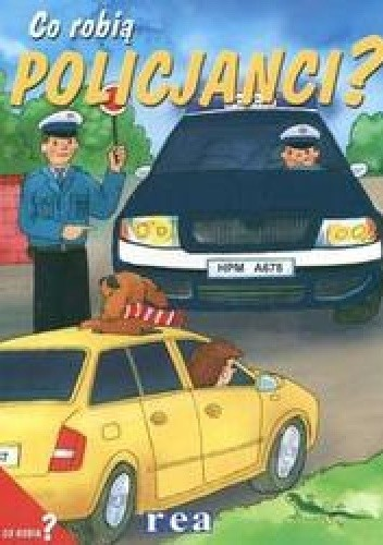 Okładka książki Co robią policjanci?