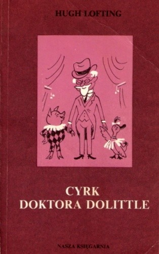 Okładka książki Cyrk Doktora Dolittle