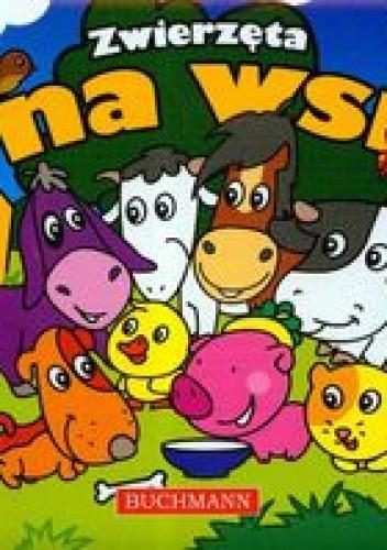 Okładka książki zwierzęta na wsi