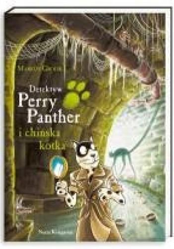 Okładka książki Detektyw Perry Panther i chińska kotka